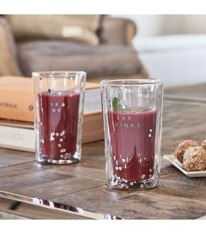 Lovely Bar Double Wall Glass L