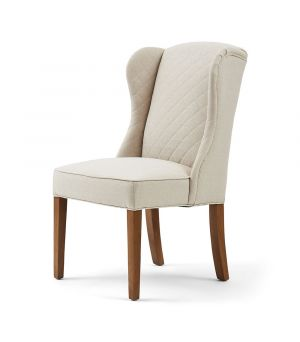 Židle William Dining Chair, Oxford Weave, Flax