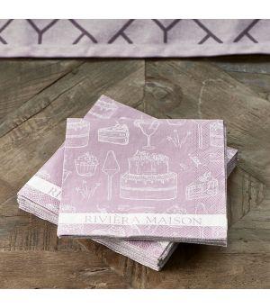 Papírové ubrousky Paper Napkin RM Loves Pie