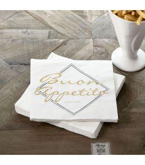 Papírové ubrousky Buon Appetito