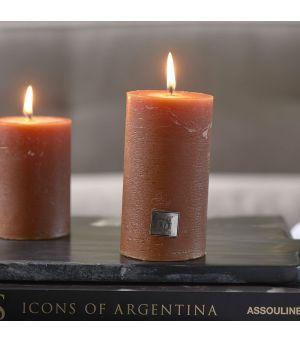 Svíčka Rustic Candle rust 7 x 13