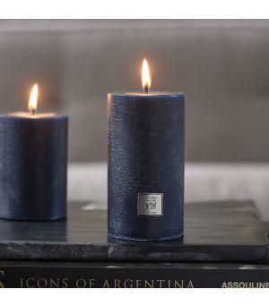 Rustic Candle dress blue 7x13