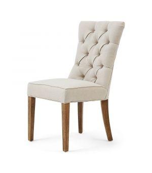 Jídelní židle Balmoral, Oxford Weave, Flax