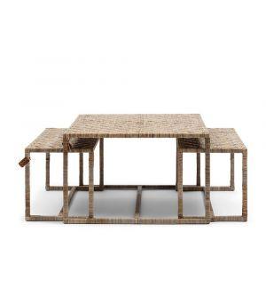 Konferenční stolek Medan S / 3, 64x70cm