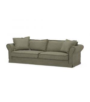 Carlton Sofa 3,5s, Oxford Weave, FrGreen