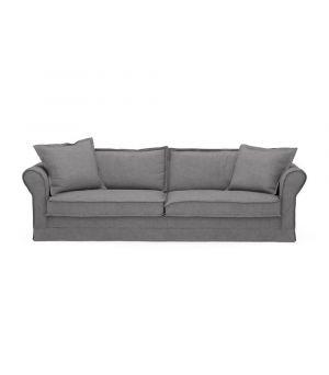 Sedačka Carlton 3,5s, Oxford Weave, Steel Grey