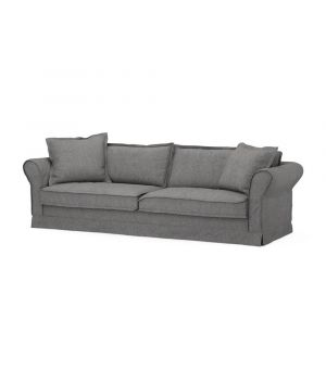 Carlton Sofa 3,5s, Oxford Weave, Charcoal