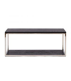 Konferenční stolek Nomad Black, 100x40cm