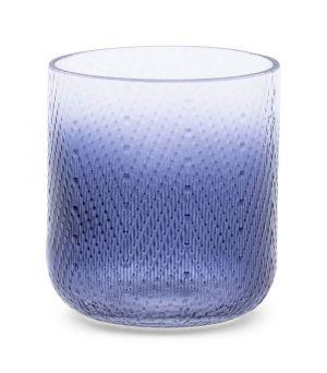 Svícen Zigzag Votive Blue