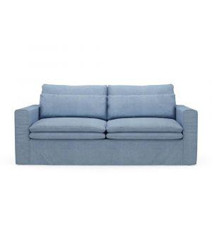 Sedačka Continental 2,5s, Washed Cotton, Ice Blue