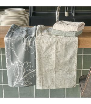 Utěrka Les Fleurs Tea Towel 2 pieces