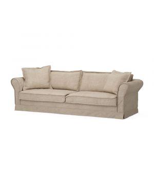 Carlton Sofa 3,5s, Washed Cotton, Natural