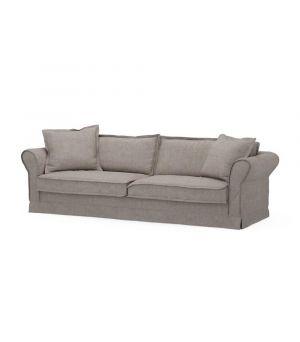 Carlton Sofa 3,5s, Washed Cotton, Stone