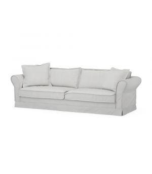 Carlton Sofa 3,5s, Washed Cotton, AshGrey