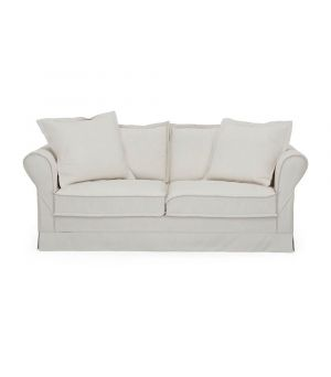 Sedačka Carlton 2,5s, Oxford Weave, White