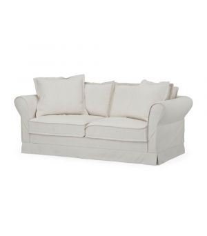 Carlton Sofa 2,5s, Oxford Weave, AlasWhite