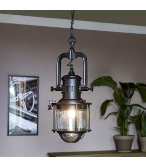 Závěsná lampa Boathouse Black