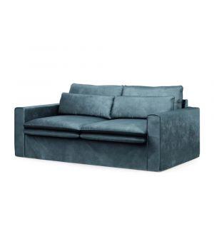 Continental Sofa 2,5s, Velvet, Petrol