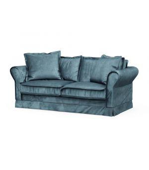 Carlton Sofa 2,5s, Velvet, Petrol