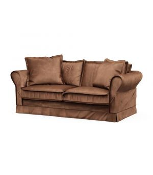 Carlton Sofa 2,5s, Velvet, Chocolate