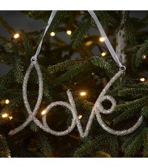Vánoční ozdoba Glamorous Love