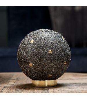 Dekorace Christmas Gold Star Led