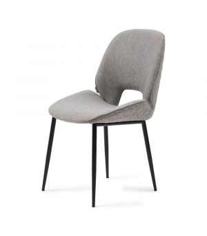 Jídelní židle Mr. Beekman, Mélane Weave, Fog