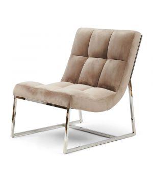 Křeslo Thompson Place Chair, Velvet, Gl Mink