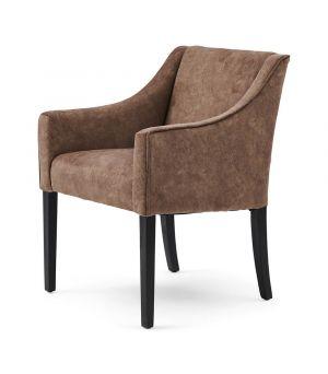 Savile Row Armchair, Berskhire, Truffle