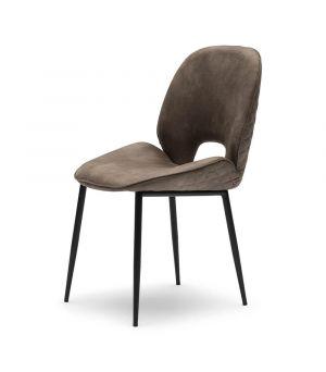Jídelní židle Mr. Beekman, Pellini, coffee