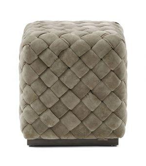 Podnožka Room 48, Fine Tweed, Pebbles 40x40cm