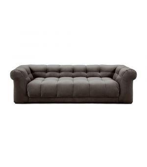 Sedačka Cobble Hill 3.5 Seater, Velvet, Grimaldi Grey