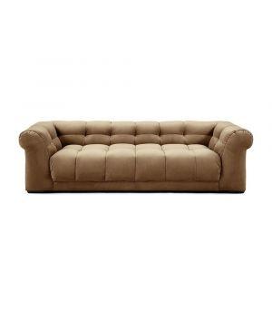 Sedačka Cobble Hill 3.5 Seater, Velvet, Golden Beige