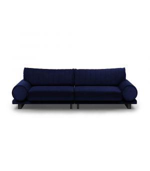 Sedačka Collins 3.5 Seater, Velvet, Midnight Blue