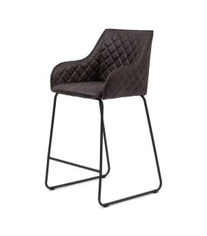 Nízká barová židle Frisco Drive, Pellini, espresso