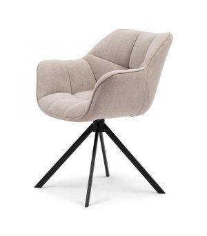 Jídelní židle Carnaby, Mouliné Linen, Flax