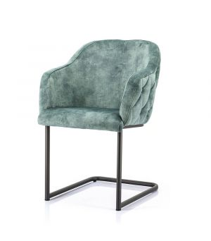 Chair Paulette - green bonnie
