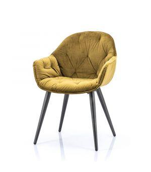 Židle Chair Joy, Winnfield, Ocher
