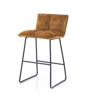 Nízka barová židle Ruby, Ochre Adore