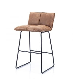 Barchair Ruby - cognac topper