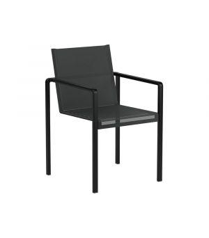 Stolička Allura, coated aluminium