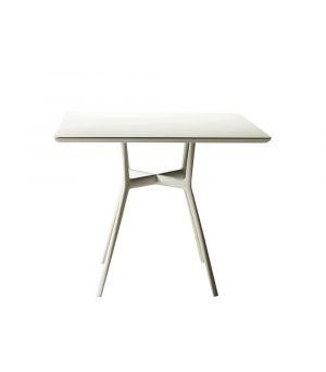 Záhradný stolík Bistro, štvorcový 90x90cm