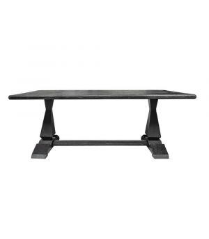 Jídelní stůl Column Leg 2.0, Black 220x105cm