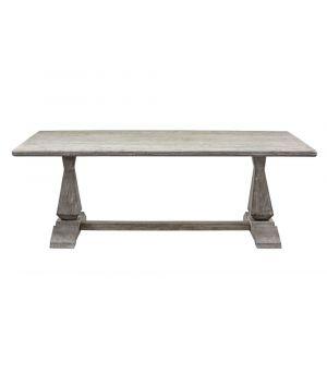 Jídelní stůl Column Leg 2.0, Grey 220x105cm