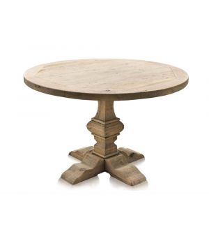 Jídelní stůl Column Leg, Natural ∅120cm