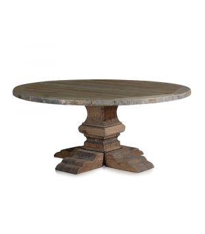 Jídelní stůl Column Leg, Natural ∅180cm