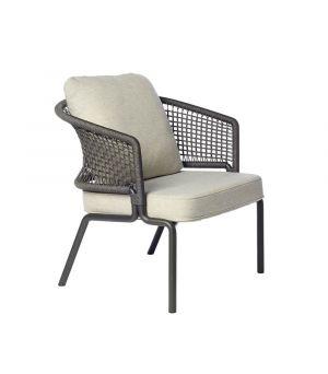 Club chair CTR wengé