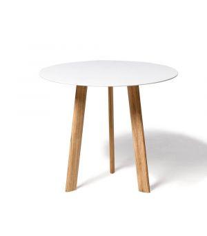Postranní stolek Ille white Ø 60cm