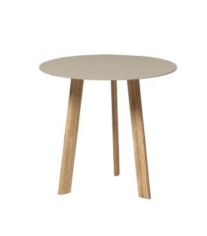 Postranní stolek Ille linen Ø 60cm