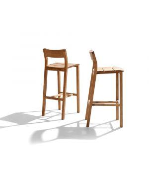 Barová stolička Kos Teak